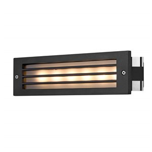 VONN Lighting Outdoor Step Light - LED - 10-in - Black
