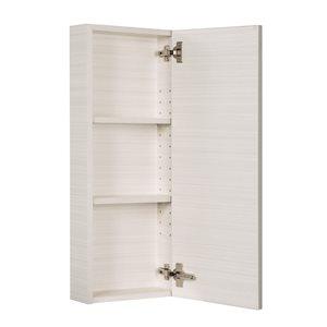 Cutler Kitchen & Bath Silhouette Collection Medicine Cabinet - White Chocolate