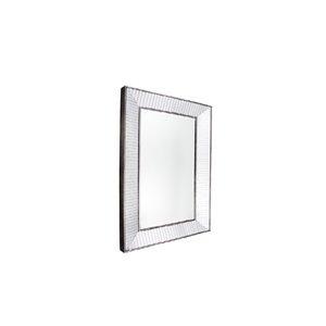 Plata Import Sash Rectangle Wall Mirror - Vertical - 35-inch - Chrome