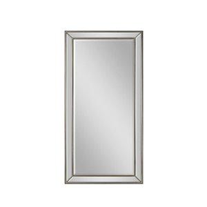 Plata Import Annex Rectangle Floor Mirror - Vertical - Chrome