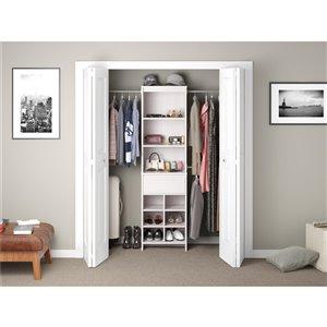 Ameriwood Adult Closet Organizer - 15.7-in x 76.6-in ...