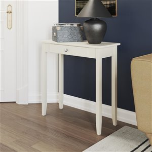 DHP Rosewood Console Table - 28-in x 28-in - White