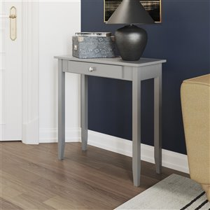 DHP Rosewood Console Table - 28-in x 28-in - Gray