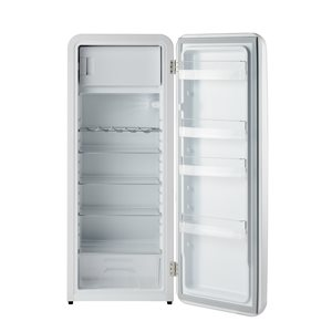 Chambers Retro Single Door Refrigerator with Freezerette- 10 cu. ft. - White