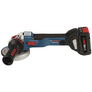 Bosch Brushless Connected-Ready Angle Grinder - 4-in and 1/2-in - 18 V
