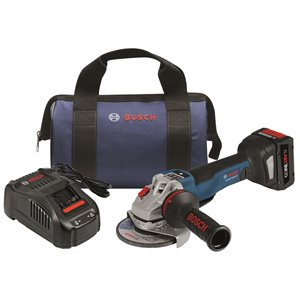 Bosch Brushless Connected Angle Grinder Kit - 14-1/2-in - 8 V