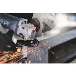 Bosch X-Lock Ergonomic Angle Grinder with Paddle Switch - 4 1/2-in