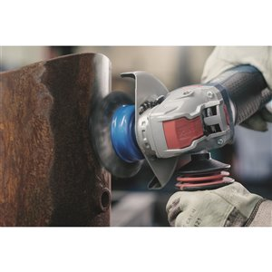 Bosch X-Lock Ergonomic Angle Grinder with No Lock-On Paddle Switch - 4 1/2-in