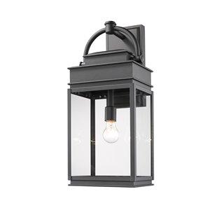 Artcraft Lighting Fulton AC8240BK Outdoor Wall Light - 24.25-in - Black