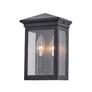 Artcraft Lighting Gable AC8160BK Outdoor Wall Light - 9.25-in - Black