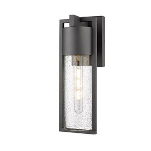 Artcraft Lighting Fulton AC8230BK Outdoor Wall Light - 19.5-in - Black
