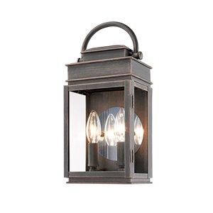 Artcraft Lighting Fulton AC8221OB Outdoor Wall Light - 12.5-in - Oil Rubbed Bronze