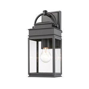 Artcraft Lighting Fulton AC8220BK Outdoor Wall Light - 13.5-in - Black
