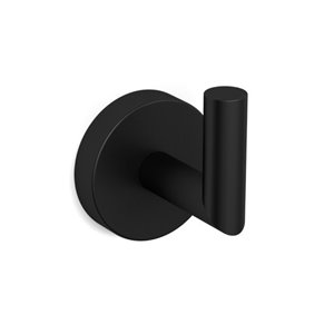 Nameeks Luxury Hotel Wall Mounted Bathroom Hook In Black