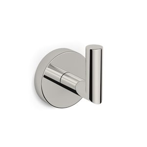 Nameeks Luxury Hotel Wall Mounted Bathroom Hook In Satin Nickel
