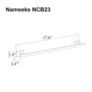 Nameeks General Hotel Wall Mounted Towel Bar In Chrome - 18-in