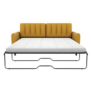 Dorel Novogratz Brittany Sleeper Sofa with Memory Foam ...