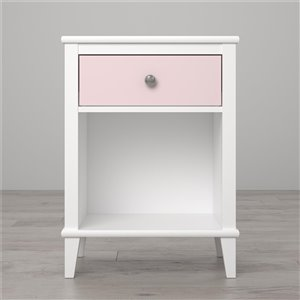 Little Seeds Monarch Hill Poppy Nightstand - 26.81-in - Wood - Pink