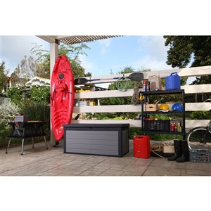 Keter Premier Deck Box - 150-gal. - Resin - Grey