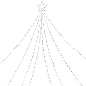 Northlight Clear Lighted Christmas Display Tree Outdoor Decor - 12-ft