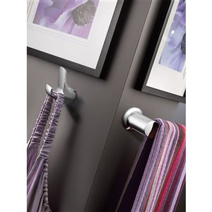 Moen Method Double Robe Hook - Chrome