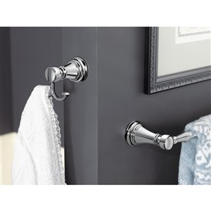 Moen Weymouth Double Robe Hook - Brushed Nickel