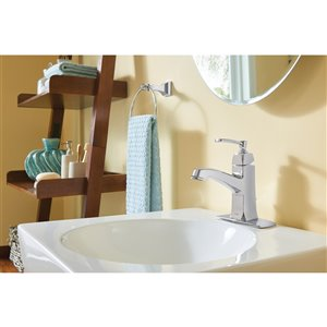 Moen Retreat Towel Ring - Chrome
