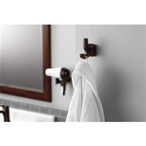 Moen Voss Double Robe Hook - Chrome