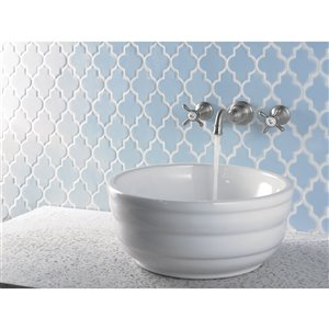 Moen Weymouth Two-Handle Wall Mount Faucet - Chrome (Valve Sold Separately)