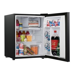 Sunbeam 2.7 cu. Ft. Compact Refrigerator Black