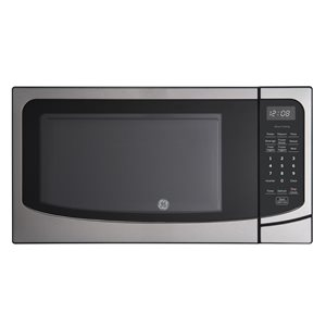 GE 1.6 Cu. Ft. Countertop Microwave Oven- Stainless Steel
