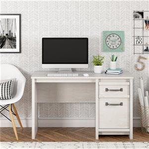 Bassinger Computer Desk, Ivory Oak