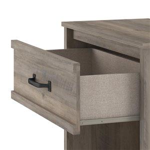 Ameriwood Bassinger Nightstand - Grey Oak