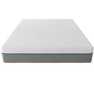 "Signature Sleep Flex 12"" Charcoal Gel Memory Foam"