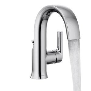MOEN Doux Bathroom Sink Faucet - 1 Handle - 1.2 GPM - Chrome