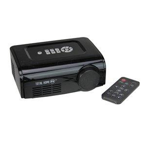 Northlight 6-in Black Window Display Christmas and Halloween FX Mini Indoor Bulb Projector Kit