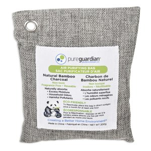 PureGuardian Air Purifying Bamboo Charcoal Bags - 200-g
