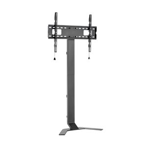 TygerClaw Slender TV Floor Stand - 62.7-in - Black