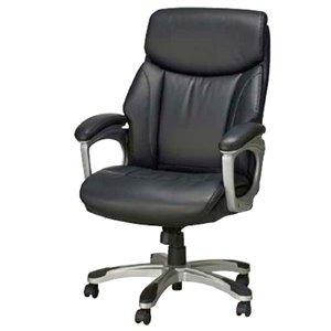 TygerClaw High Back Executive Office Chair - Black