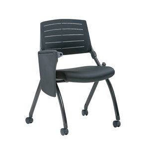 TygerClaw Low Back Classroom Chair - Black