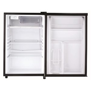 RCA 4.5 cu ft Freestanding Compact Fridge with Freezer Compartment - Black