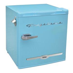 Frigidaire 1.6 cu ft Freestanding Retro Bar Fridge with Freezer Compartment - Blue