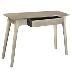 !nspire Modern Rustic Console Table - 1-Drawer - 14-in x 30-in - Light Grey