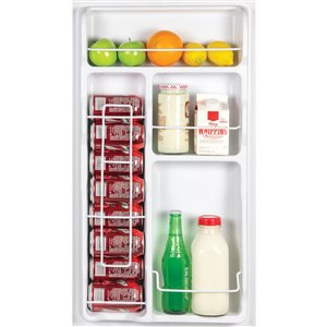 Igloo Classic Compact Red Refrigerator Freezer - 3.2-cu ft