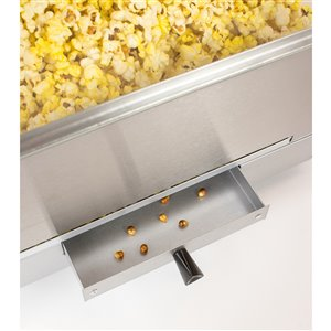 Nostalgia Vintage 10-Ounce Commercial Popcorn Cart - 59 Inches Tall