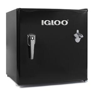 Igloo Classic Compact Single Door Refrigerator - Black - 1.6-pi cu