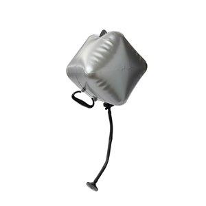 Reliance Portable Shower with Solar Spray -  Polyethylene - Gray -2/Pack