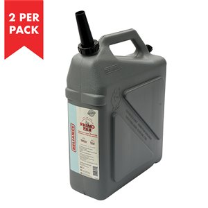 Reliance Rhino Pak Heavy Duty 5.5-gal. Water Container - High-Density Polyethylene - 2/Pack