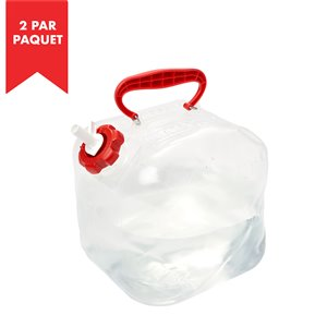 Reliance Fold-A-Carrier 2.6-gal. Bagged Water Container - Polyethylene - 2/Pack