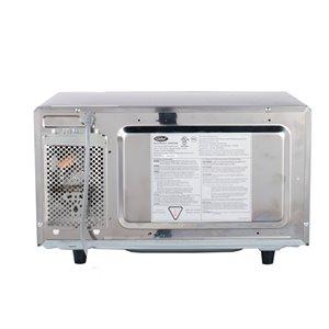 General Digital Commercial Microwave - 1-cu ft - 1,000 Watts - Stainless Steel
